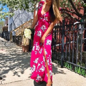 Billabong Flutter In The Rain Floral Summer Dress